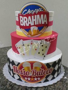 BOLO FALSO EM EVA BOTECO