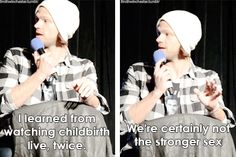 [gifset] Jared speaks the truth #VegasCon15