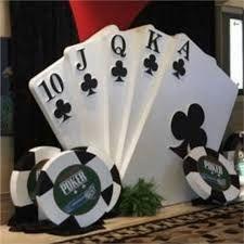 Resultado de imagen de fiesta tema casino