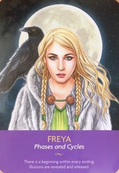 Freya Phases and Cycles Kyle Gray Keepers of the Light Oracle Cards