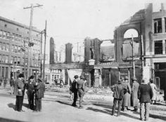 Today in Columbus History 122_Downtown after fire_March 18 1919_Photo by J.F. Highsaw_LH 112  Columbus has been the victim of many fires over the course of its history. One such fire occurred on March 18, 1919. It began in the Burleson Barbershop, located on the southeast corner of Main and Market Streets, at 3:30pm in the afternoon. Home to many businesses, including the Columbus Clothing Company, the three-story structure was completely destroyed. The six-story Columbus National Bank next…