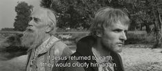 Andrei Rublev by Andrei Tarkovsky Andrei Rublev, Waves After Waves, Jesus Return, Movie Screenshots, See Movie, Movie Lines, All Movies, Movie Quotes, Revolution