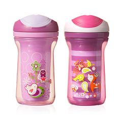 """Tommee Tippee Explora Truly Spill Proof Drinking Cup - 9oz (Pink/Purple) - Tommee Tippee - Toys """"R"""" Us"""