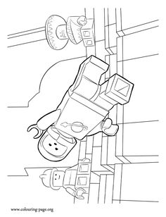 The LEGO Movie The LEGO Movie Cast Coloring Page