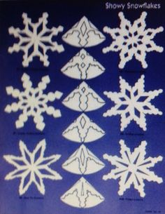 Showy Snowflakes.