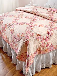 Quilting - Bed Quilt Patterns - Nine-Patch Quilt Patterns - A Visit to Bali