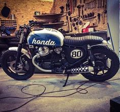 Honda #cx500. Built By: Cardsharper Customs
