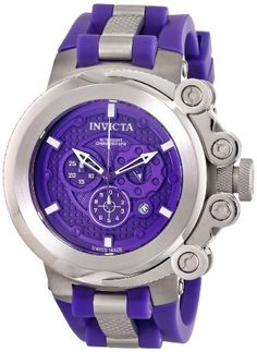 Invicta Men's Coalition Forces Swiss Quartz Chronograph Stainless Steel Watch