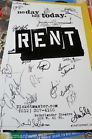 RENT Broadway Signed Poster Closing Night Final Cast WILL CHASE EDEN ESPINOSA+20 - Broadway, cast, Chase, CLOSING, EDEN, ESPINOSA+20, FINAL, night, POSTER, Rent, Signed