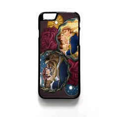 Beauty And The Beast Disney Princess For Iphone 4/4S Iphone 5/5S/5C Iphone 6/6S/6S Plus/6 Plus Phone case ZG