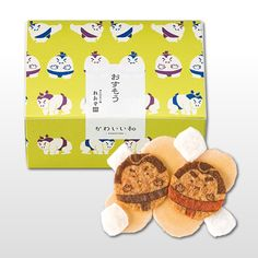 sumo wrestler rice cracker