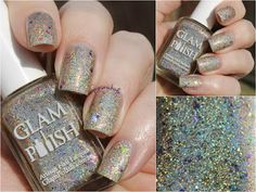 Bedlam Beauty: Glam Polish Flashback Trio