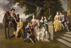 Johan Zoffany - The Family of Sir William Young