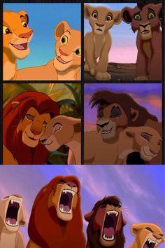 LOVE LION KING AND LION KING 2 SIMBAS PRIDE