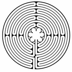 Chartres Labyrinth ♡  Chartres Labyrinth ♡