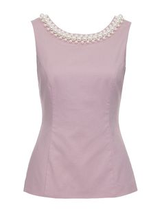 Review Australia | Marchess Sleeveless Top in Dusk Pink| Shop Tops Online from Review