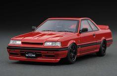 IG0135 1/43 Nissan Skyline GTS (R31) Red   LINE UP   ignition model…