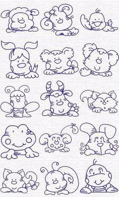 Free Embroidery Designs, Sweet Embroidery, Designs Index Page. This reminds me of the things mom made for me when I was little. animals silly animals animal mashups animal printables majestic animals animals and pets funny hilarious animal Embroidery Designs, Embroidery Applique, Cross Stitch Embroidery, Machine Embroidery, Applique Patterns, Coloring Book Pages, Needlework, Sewing Projects, Doodles