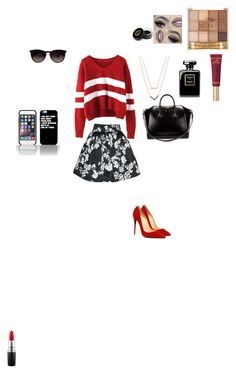"""""""Shopping Day"""" by xxbeautygurlxx on Polyvore featuring Alice + Olivia, Ray-Ban, Michael Kors, Givenchy, MAC Cosmetics, Too Faced Cosmetics and Gucci"""
