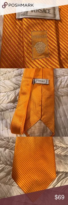 Versace tie 100% silk great condition Beautiful silk tie bundle and save 15% Versace Accessories Ties