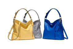 Coach Madison Isabelle - torn between canary yellow and cobalt blue!! <3