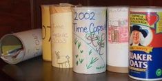 New Years Eve Traditions - make a Time Capsule - so fun!