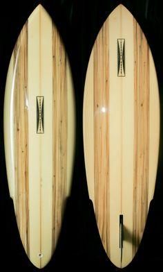 Gordon & Smith Balsa Sting Pintail late 70′s #surfboard