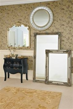£235 Large free standing Juliette Mirror from the Next UK online shop