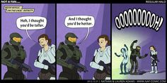 halo regular show crossover One Punch, Halo Funny, Halo Collection, Game Of Death, All Video Games, Halo Reach, Red Vs Blue, Stuff And Thangs, Geek Humor