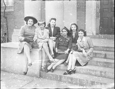 African-American Womens Press Group, 1945 by Black History Album, via Flickr