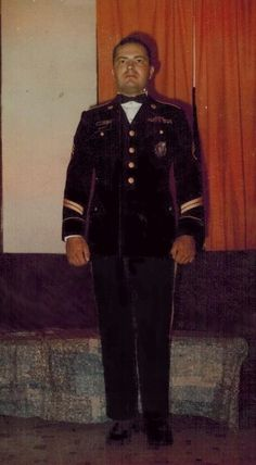 SSG James Wright in dress blues