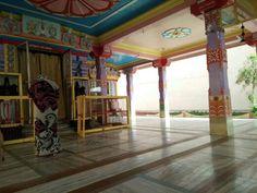 Interior of Navlakha temple