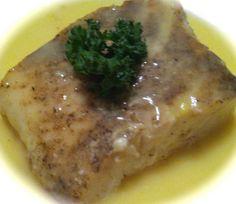 2 Recipes: Halibut on Chickpea Puree and Egg Lemon Sauce