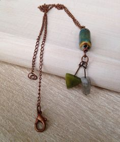 Antiqued Arrow Necklace Copper Necklace Handmade Jewelry Bohemian Necklace Rustic Jewelry California USA San Diego Kila Rohner Handcrafted