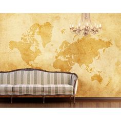 """Fotótapéta (óriásposzter) no.92 VINTAGE WORLDMAP"""" 400x280cm Wallpaper"""""""