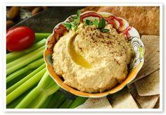 Almond Low Carb Hummus Recipe - Gwen's Nest