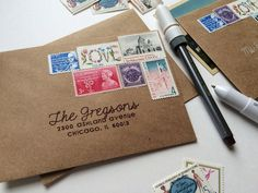 Addressing Envelopes | Silhouette America | Brittany Sazonoff