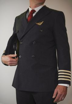 Shen Te falls in love with an unemployed male pilot, which is represented by this picture.