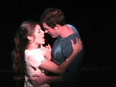 """West Side Story """"Tonight"""" Broadway revival 2009 - YouTube West Side Story Tonight, Les Miserables, Story Inspiration, Musical Theatre, Musicals, Broadway Shows, Stage, It Cast, Couple Photos"""