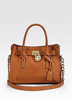 What's not to love about a Michael Kors bag kid. I love the Hamilton Satchels. I truly do need one in this color:) Yum.
