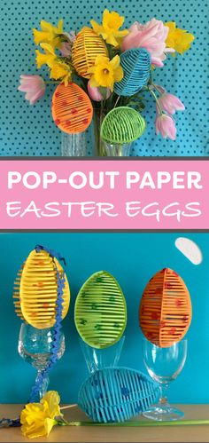 Cute idea for an Easter centerpiece.