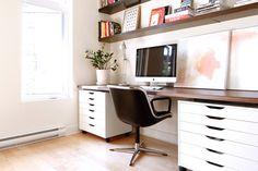 Claves para armar tu escritorio en casa  . Foto:Pinterest.com