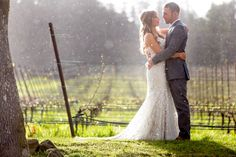 Zenith Vineyard Spring Wedding Photos