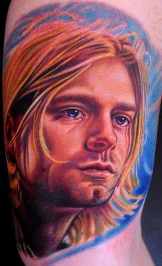 Most amazing portrait of Kurt. The best I've seen... Fabulous portrait in ink!