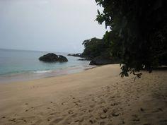 Principe, praia banana : moins sympa en bas, mais on en ferai bien son ordinaire...