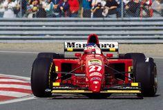 Jean Alesi (FRA) (Scuderia Ferrari), Ferrari 412T2 - Ferrari Tipo 044/1 3.0 V12 (finished 1st)  1995 Canadian Grand Prix, Circuit Gilles Villeneuve