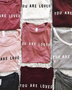 Glorify apparel ~you are loved~ http://glorifyapparel.org/collections/new-arrivals