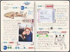 Risultati immagini per travel journal contenuti
