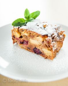 Spelt cake with blackberries and apples_ Dairy-free, no refined sugar and lots of fibre! Fewer calories, more flavour!
