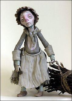 кукла для кукольной анимации Мать Цахеса Михаил Шемякин